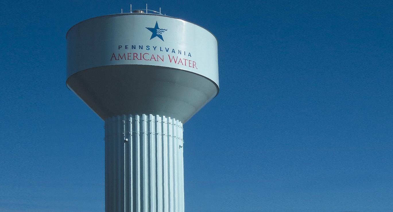 Pennsylvania American Water Elevated Steel Water Tank