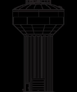 Elevated Steel Water Tank | Steel Water Storage Tank | Phoenix